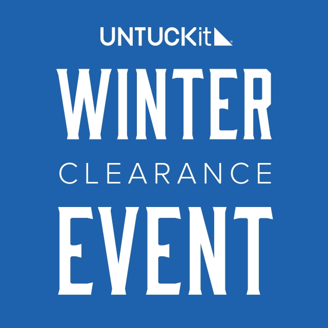 Winter Clearance Event—ON NOW from UNTUCKit