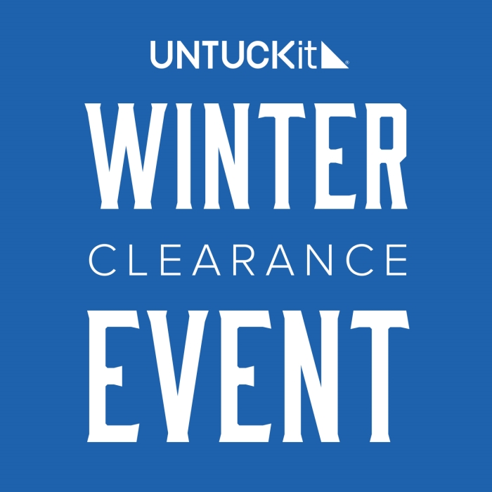 UNTUCKit's Winter Clearance Event -- ON NOW