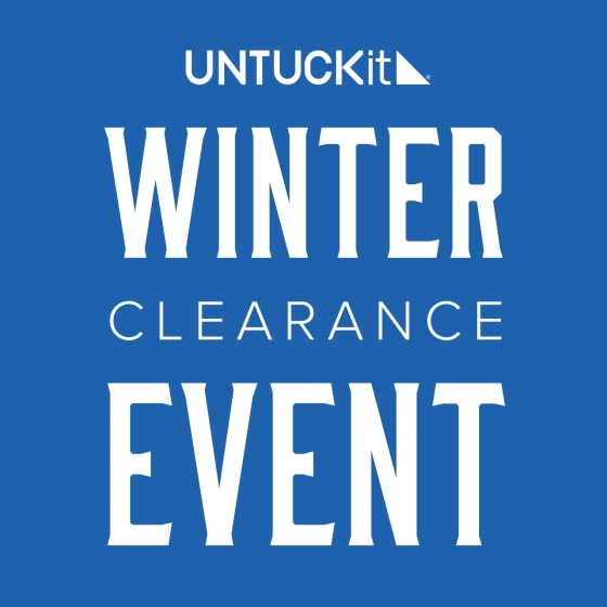 UNTUCKit's Winter Clearance Event—ON NOW from UNTUCKit