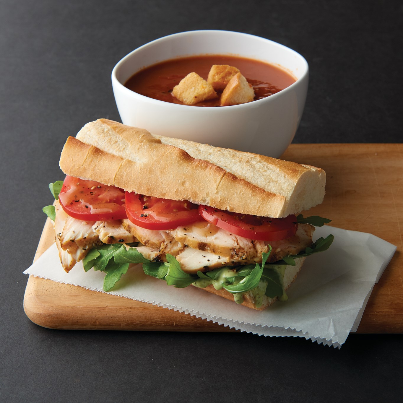 Choose Two for $7.49 from Corner Bakery Cafe