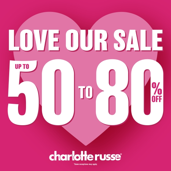 Love Our Sale!! from Charlotte Russe
