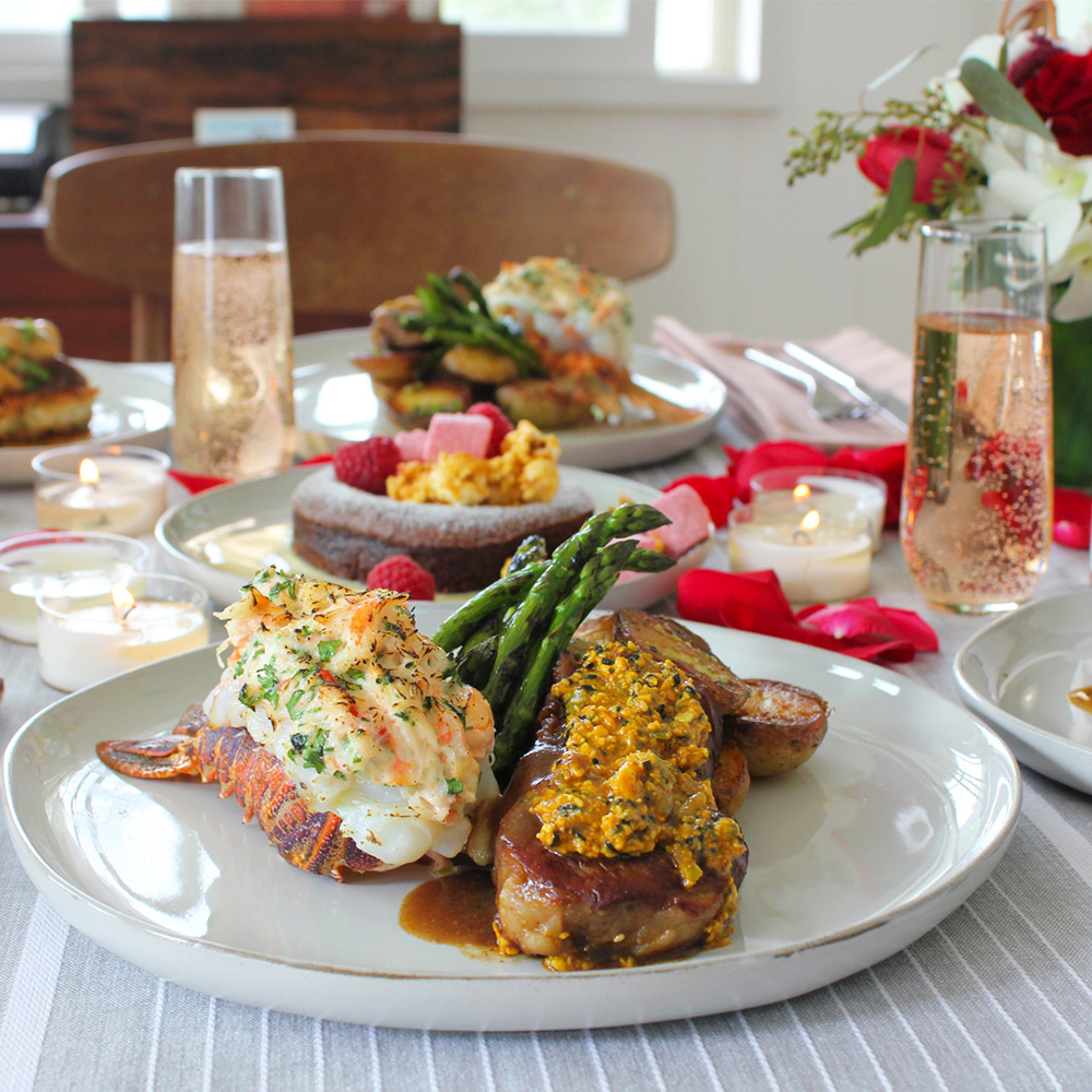 Chef-Prepared Valentine's Dinner for Two from Foodland Farms