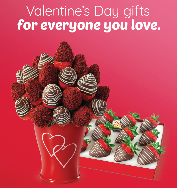 Valentine's Day Gifts- Both Memorable & Appetizingly Delicious from Edible Arrangements