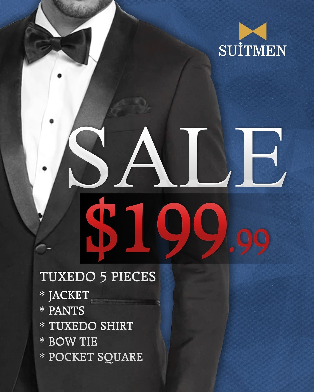 Tuxedo Sale from Suitmen