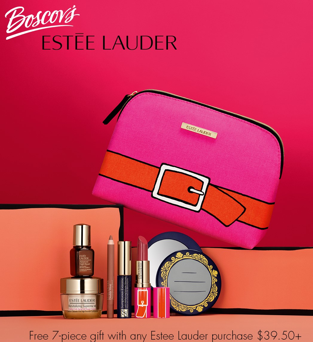 Boscov's Estée Lauder Gift with Purchase from Boscov's