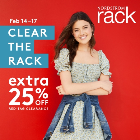 Clear the Rack, at Nordstrom Rack! from Nordstrom Rack