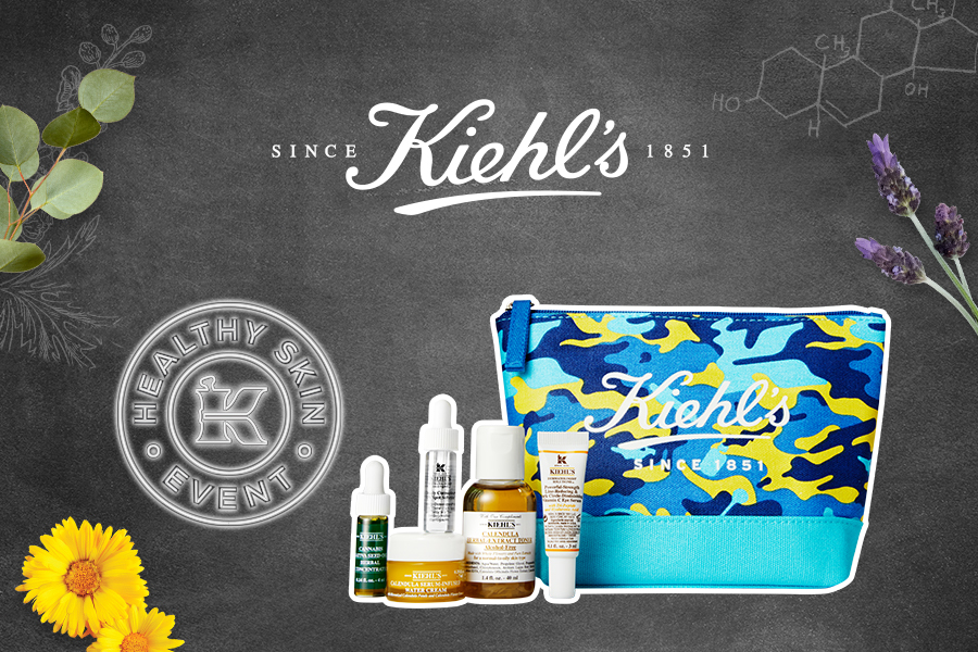 Find Your Healthiest Skin with a Complimentary Skincare Gift at Kiehl's! from Kiehl's
