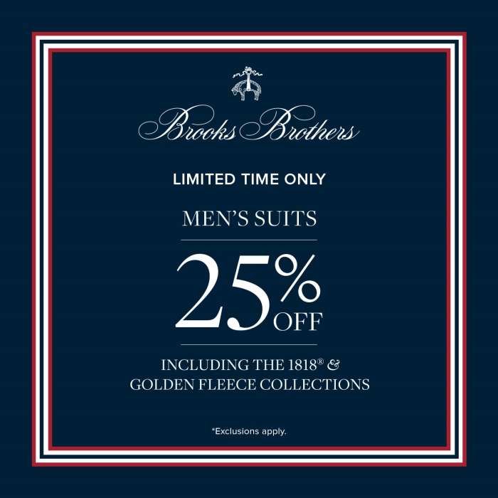 Men's Suite Sale from Brooks Brothers