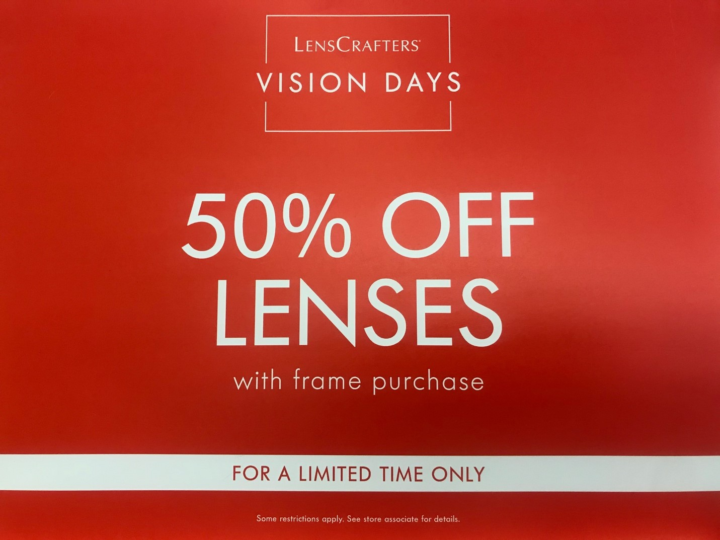 LensCrafters' Vision Days from LensCrafters