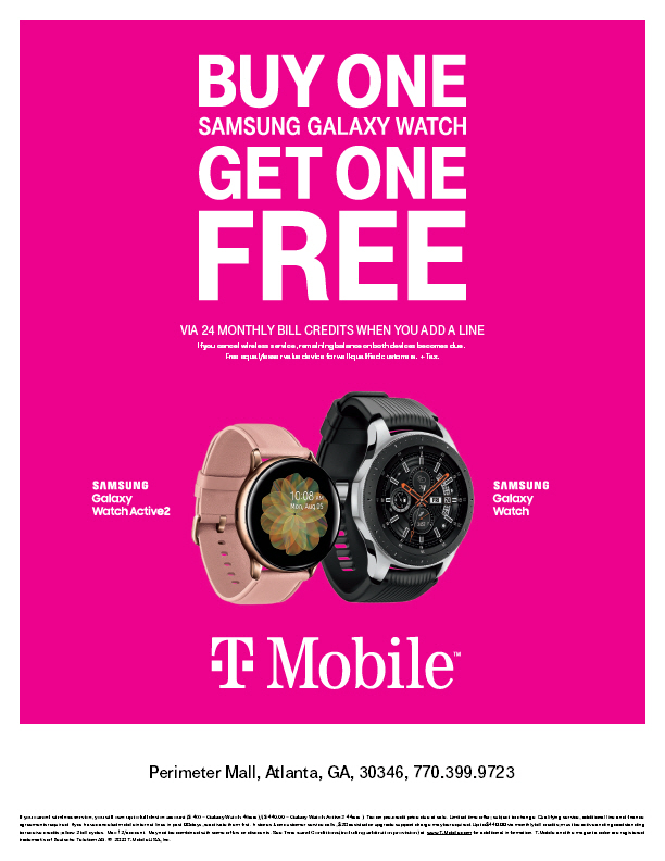 Samsung Watch BOGO from T-Mobile