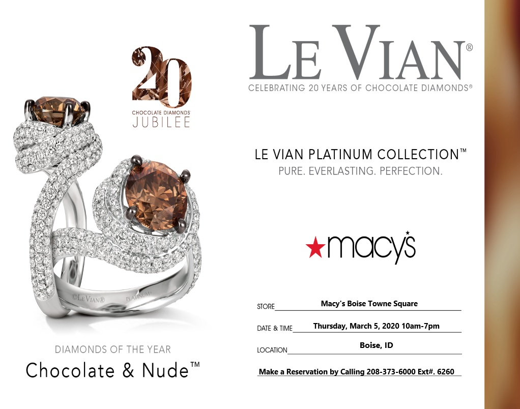Macy's LeVian Platinum Collection from macy's