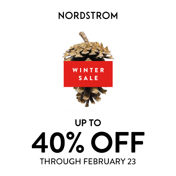 Save up to 40%  on select items! from Nordstrom