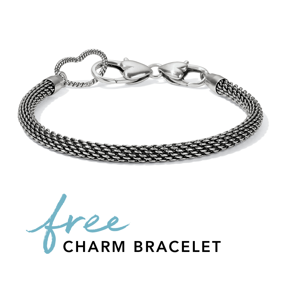 Free Glamorous Heart Bracelet from Brighton Collectibles