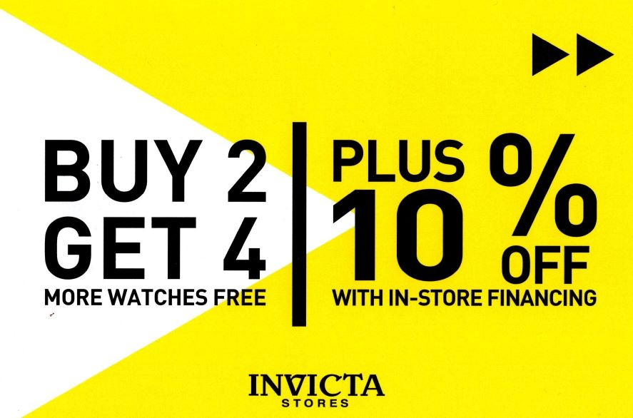 Spring Into Action from Invicta