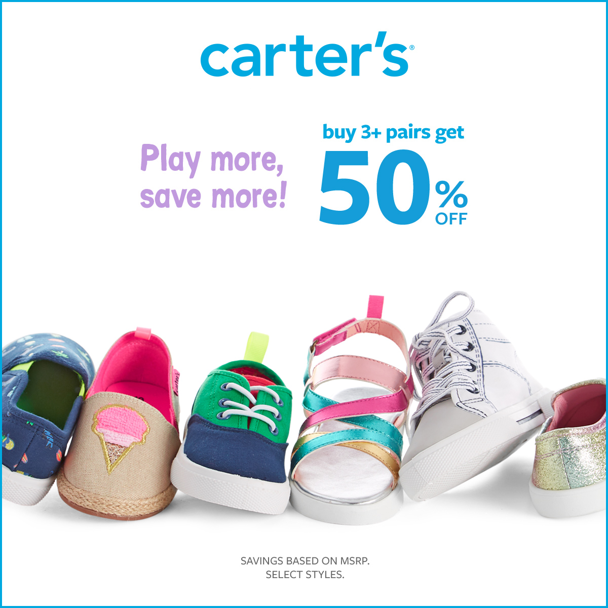 Carter's Play More, Save More from Carter's