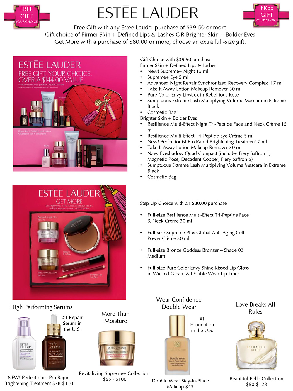 Estée Lauder Gift with Purchase from macy's