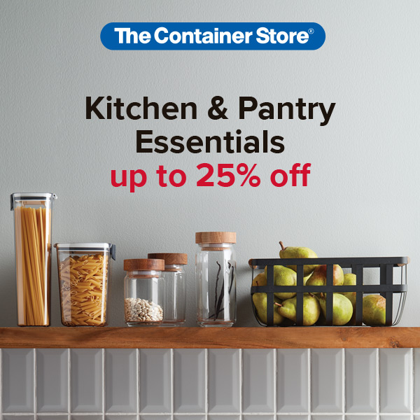 Kitchen Organization Sale from The Container Store