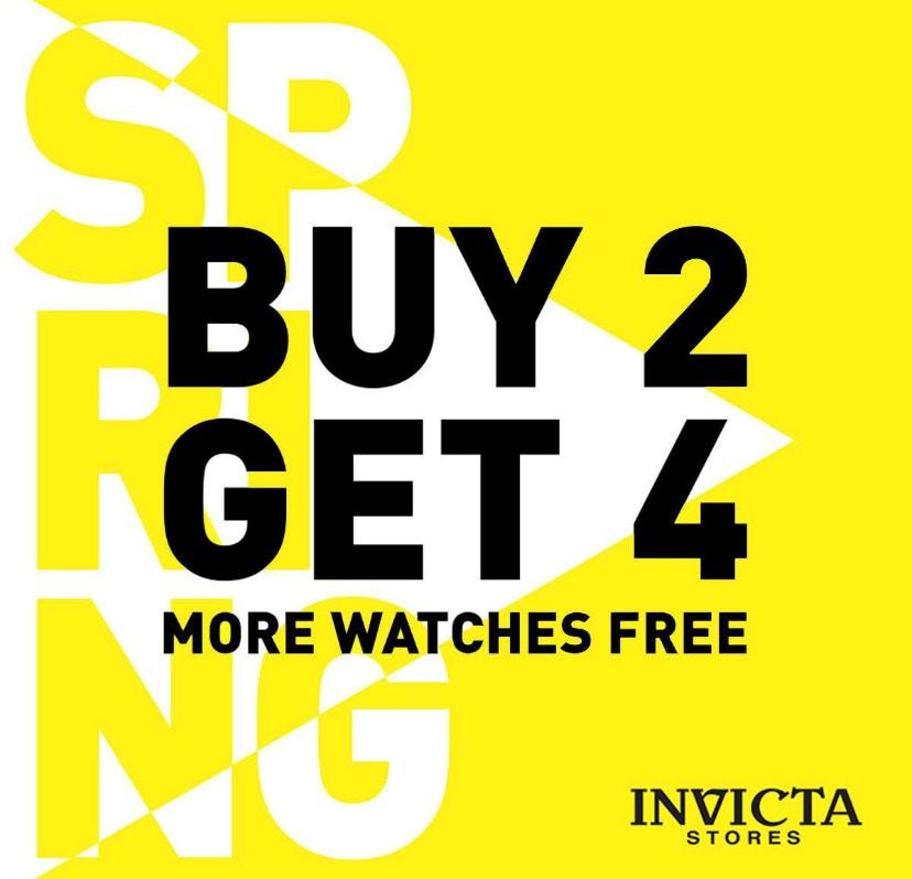 Spring Sale at Invicta!