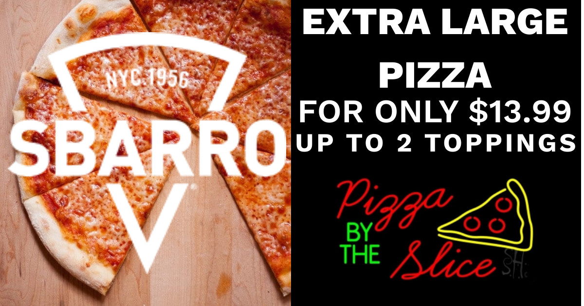 $13.99 Extra Large Pizza
