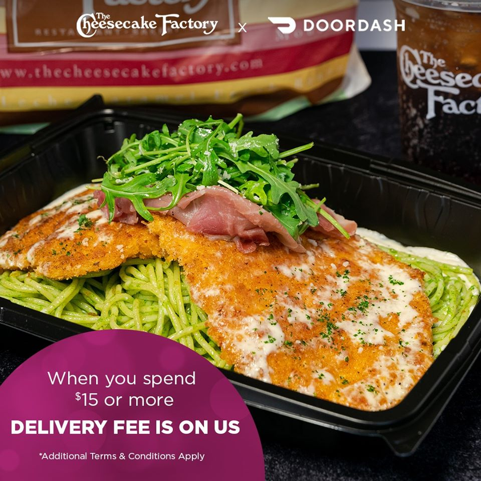 The Cheesecake Factory x Doordash from The Cheesecake Factory