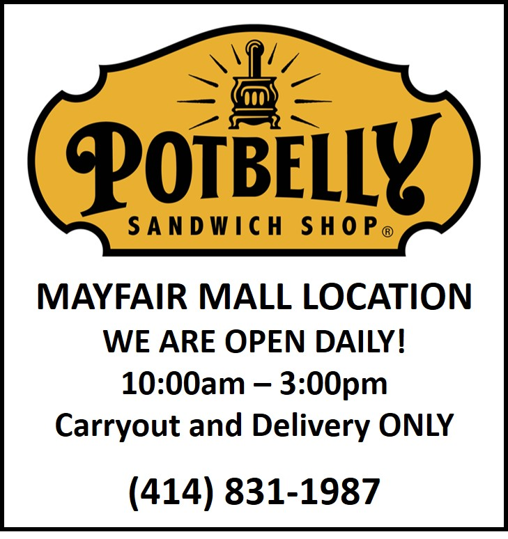Carry Out and Delivery Only from Potbelly Sandwich Works