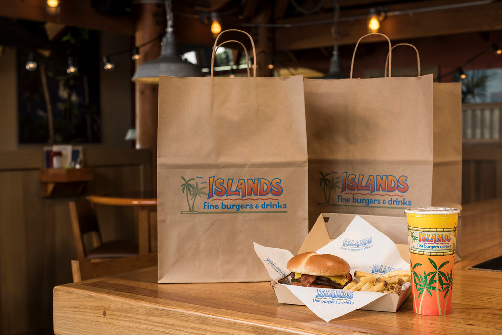 Takeout and Delivery Available from Islands Fine Burgers & Drinks