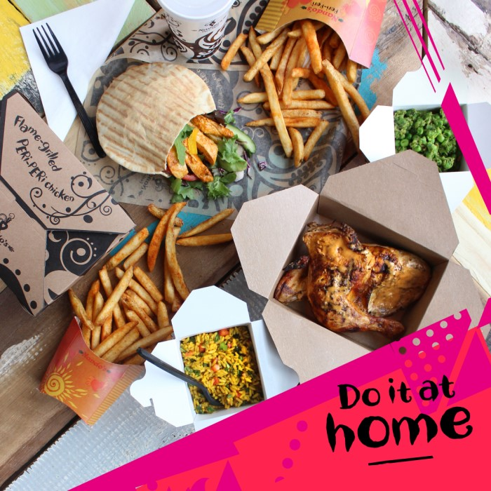 Free Delivery on First Time Orders from Nando's Peri-Peri Chicken