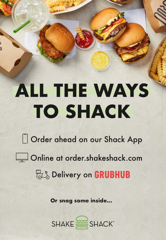ALL THE WAYS TO SHACK from Shake Shack