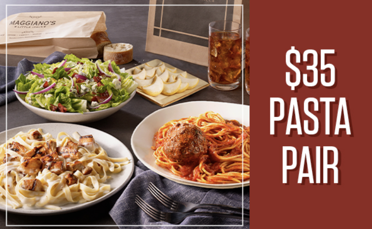 Carryout Package from Maggiano's Little Italy