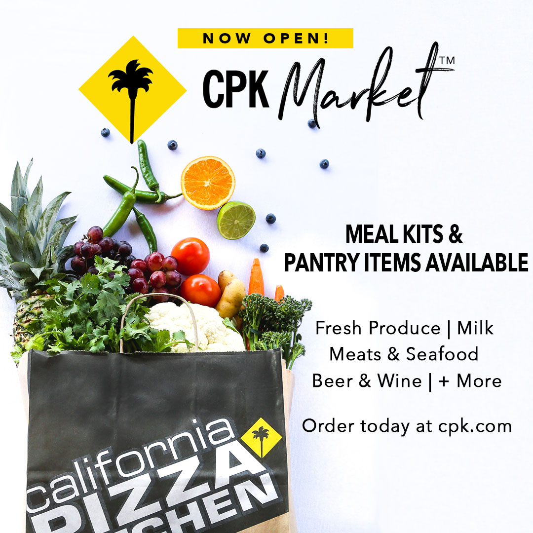 California Pizza Kitchen is here to help! from California Pizza Kitchen