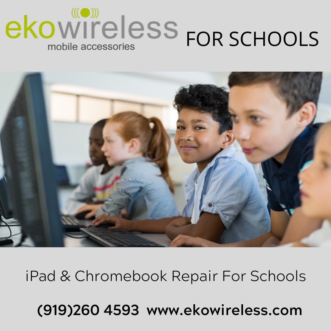 iPad and Chromebook Repairs from Ekowireless