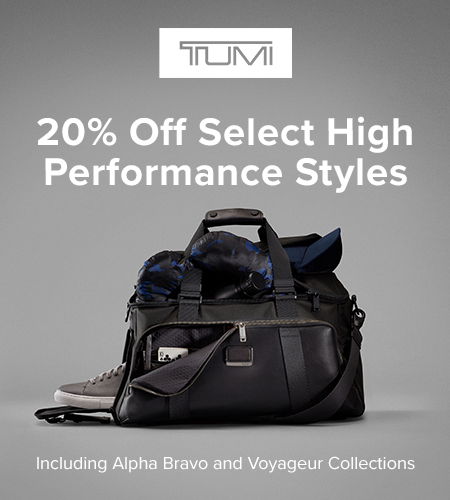 20% Off Performance Sale from TUMI