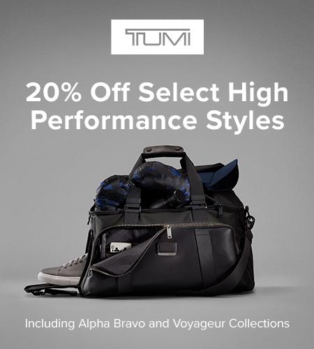 20% Off Performance Sale