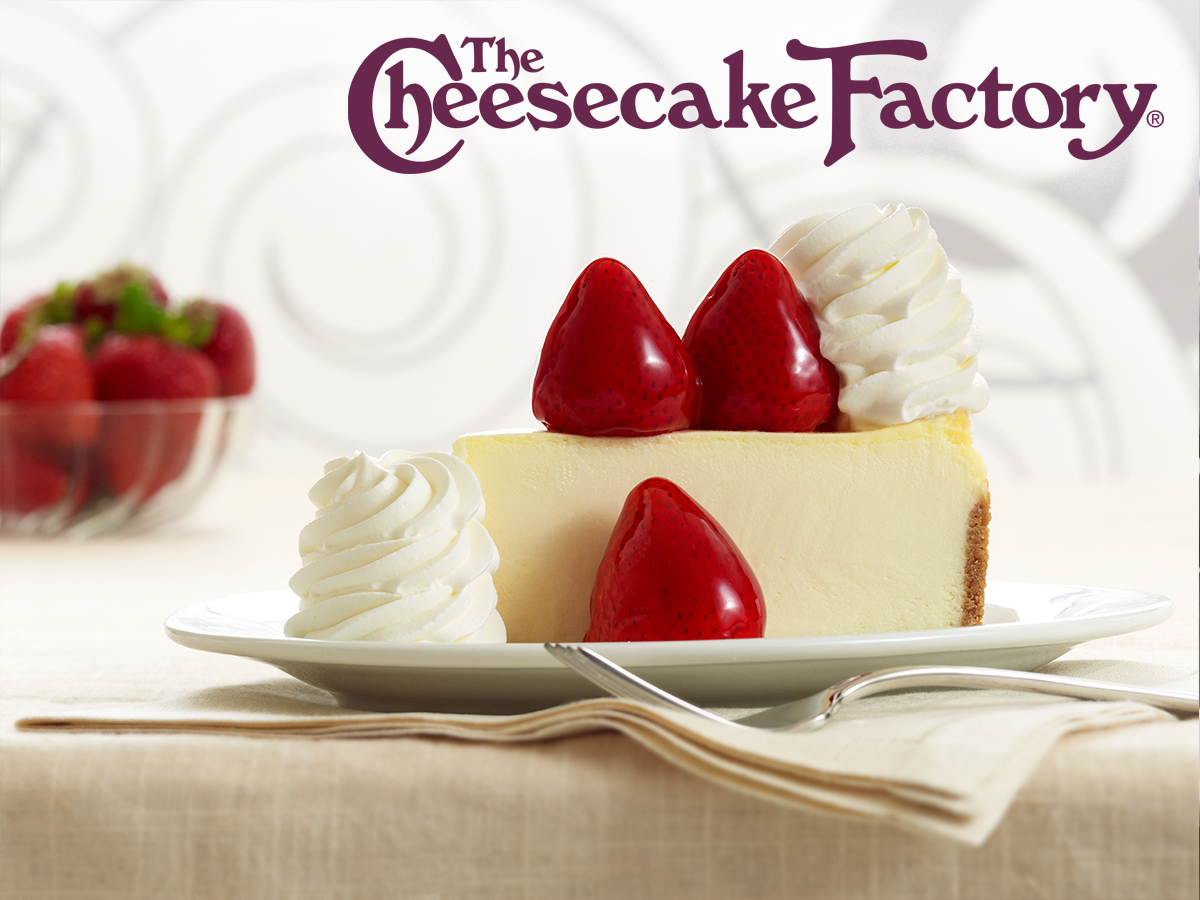 The Cheesecake Factory is OPEN! from The Cheesecake Factory