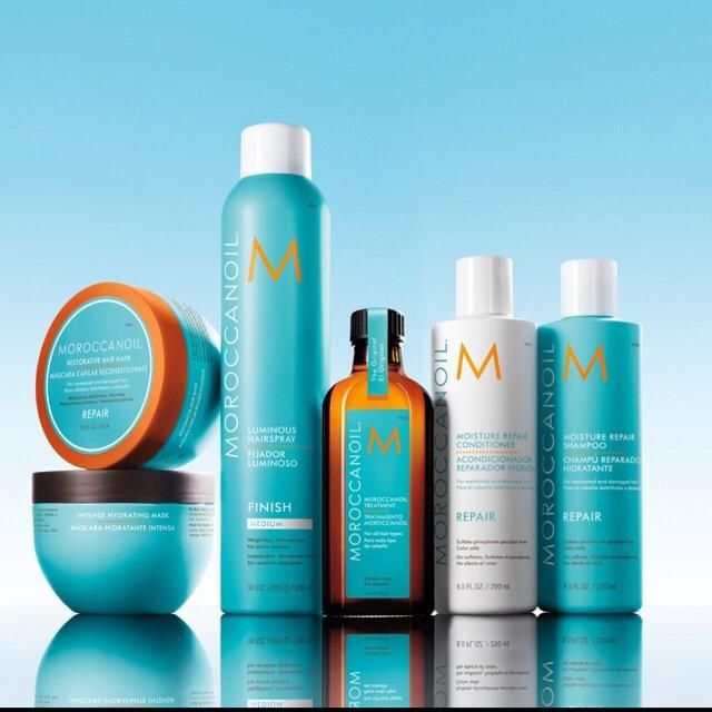Moroccanoil Premium Hair Products from Sheer Treasures