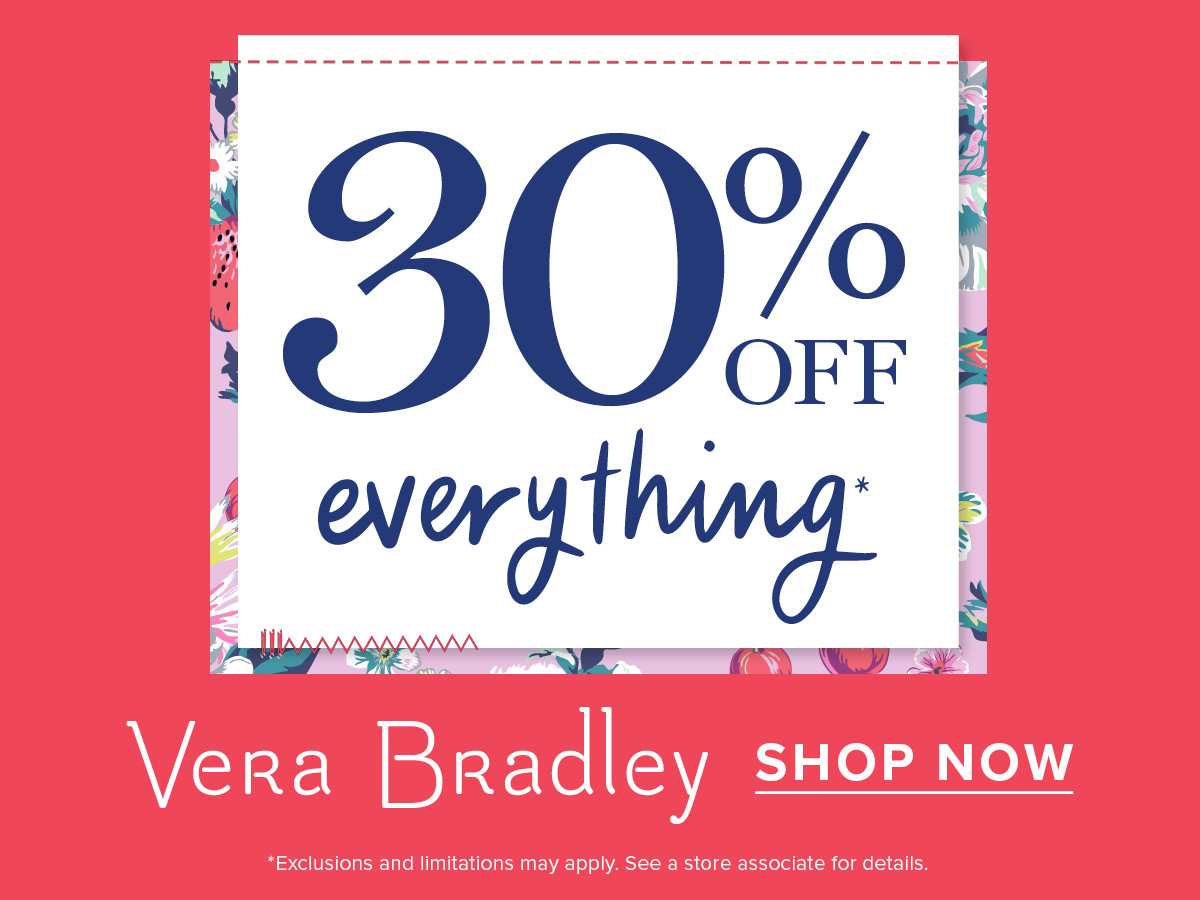 Exciting News! from Vera Bradley