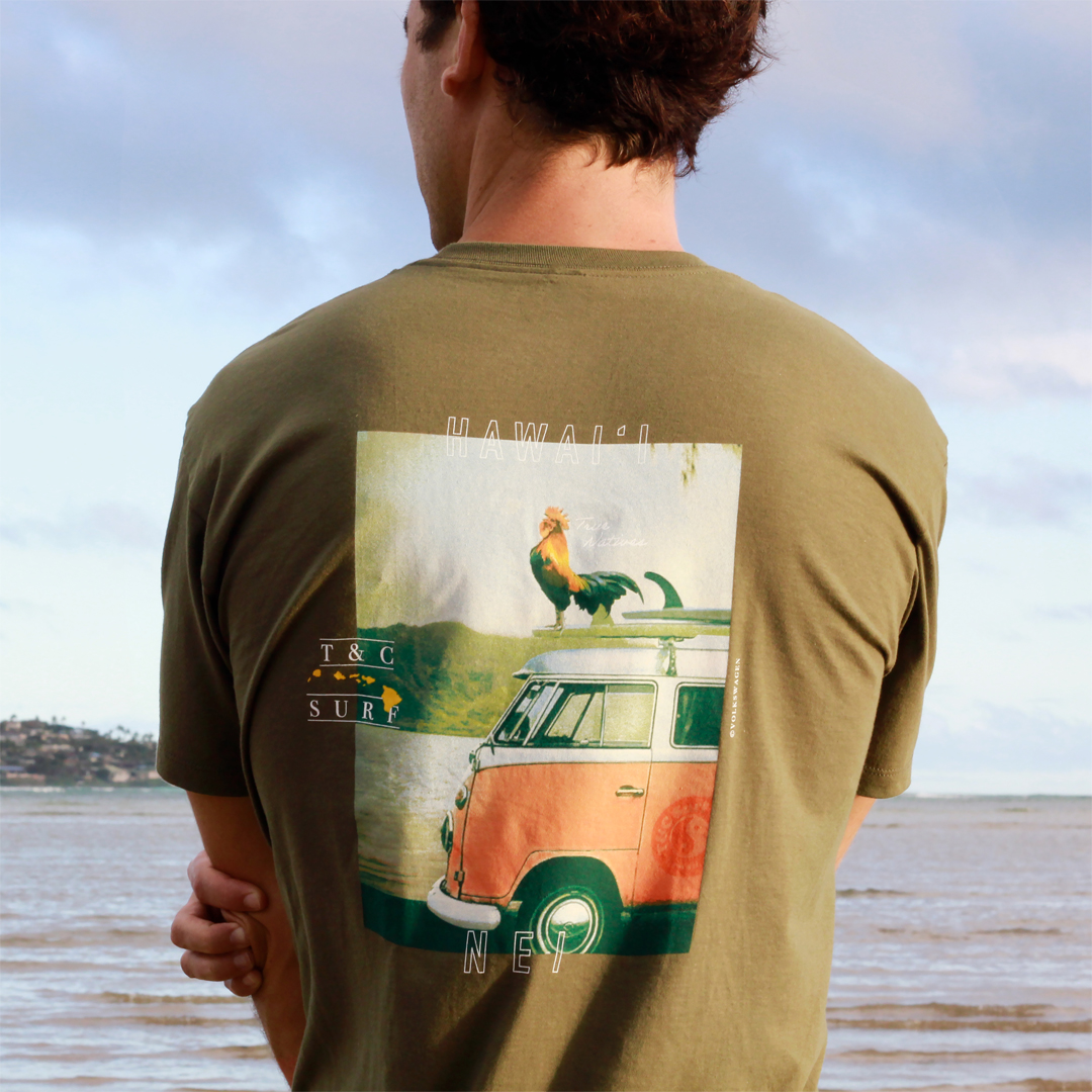 New Exclusive Shirt Design from T&C Surf Designs