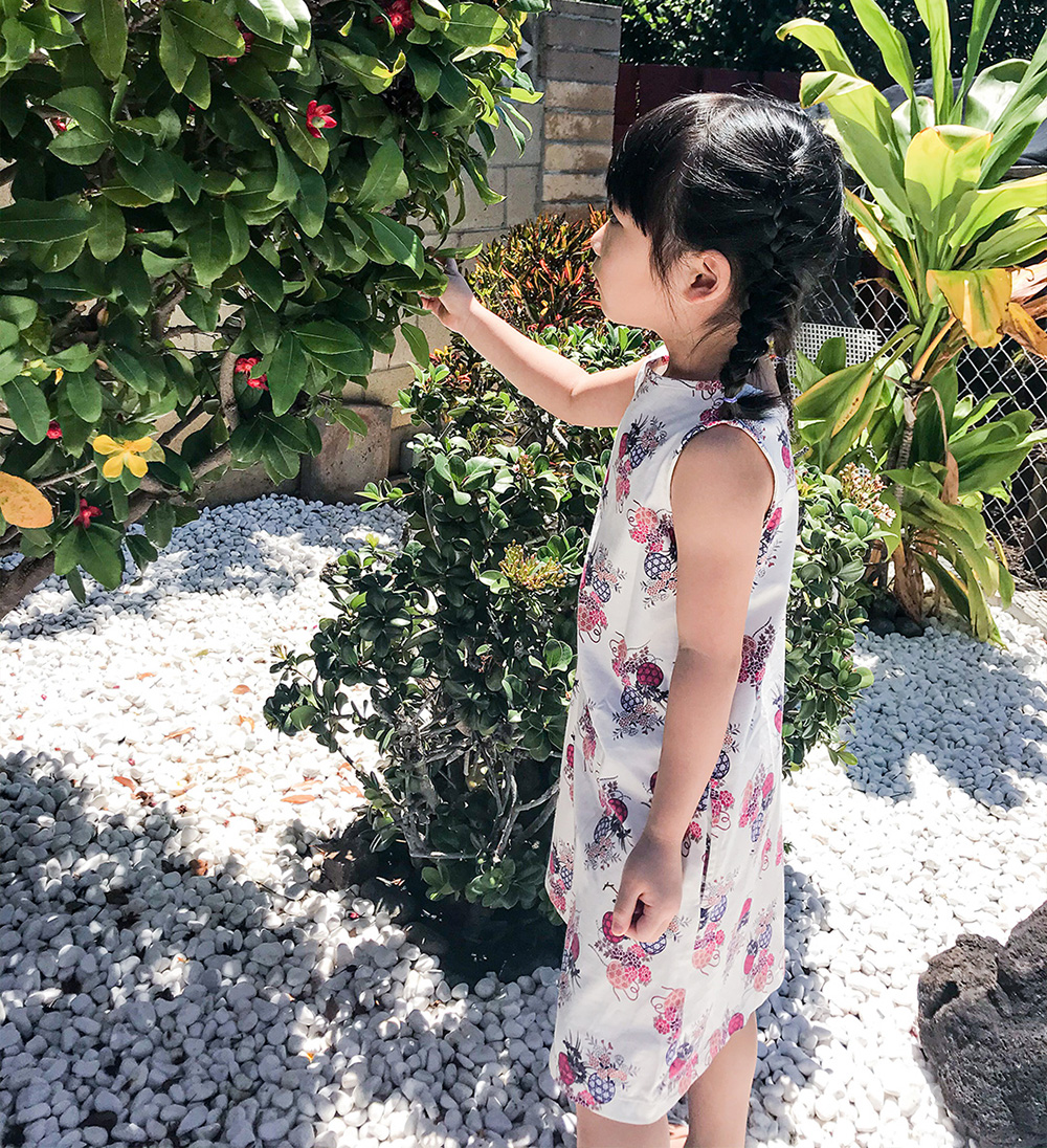 New Aloha Dresses for Girls from Uniqlo