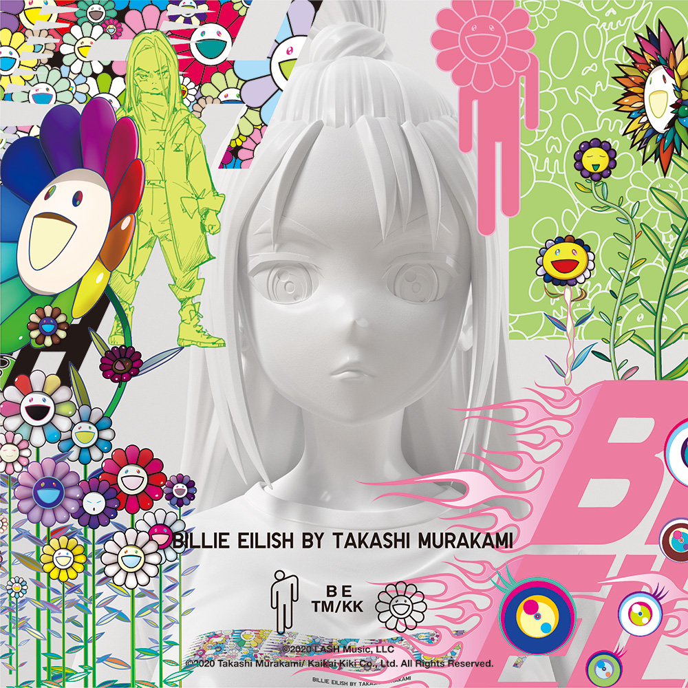 專屬 Billie Eilish x Murakami UT 系列 from Uniqlo