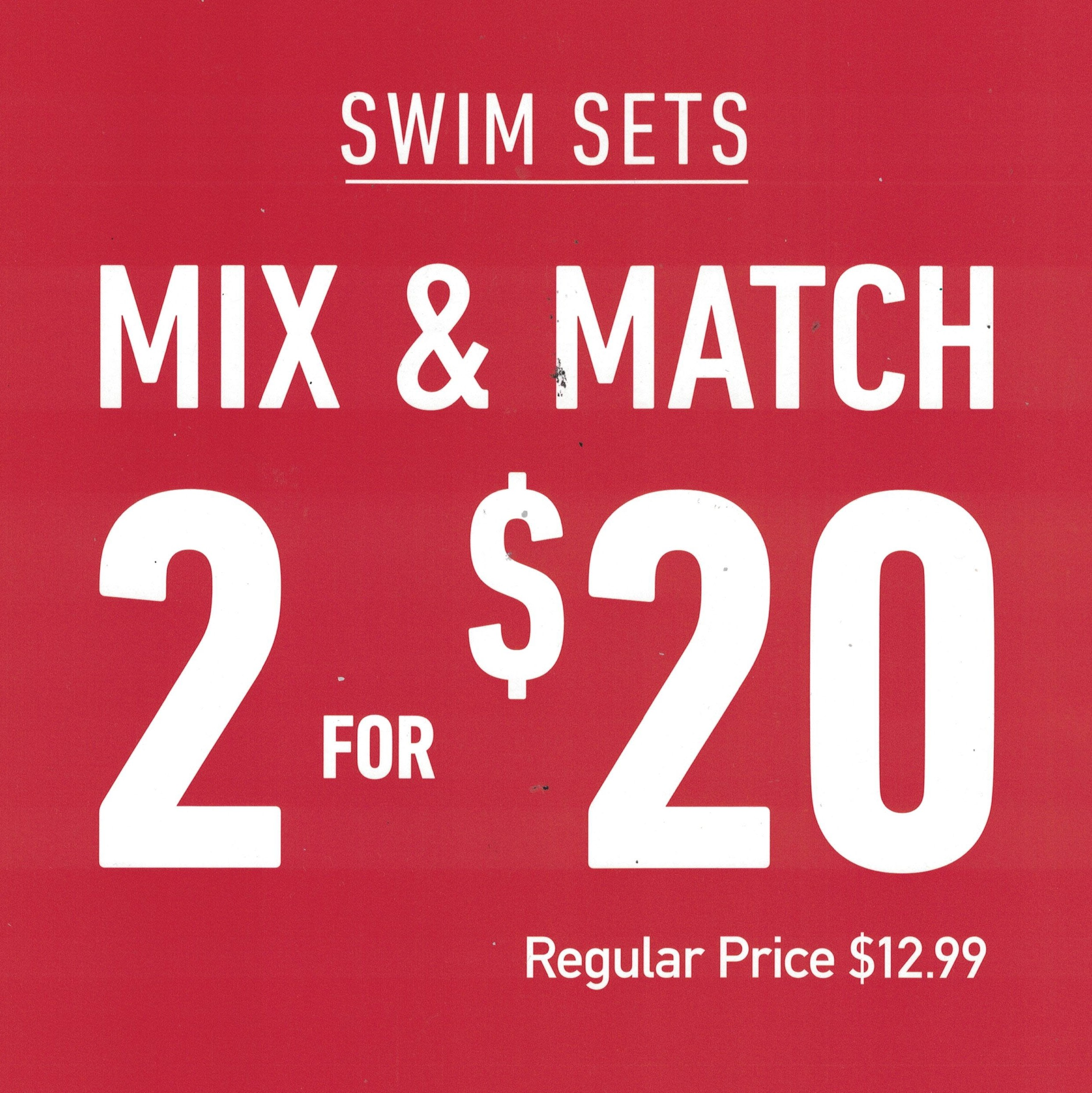 Swim Sale from Forever 21