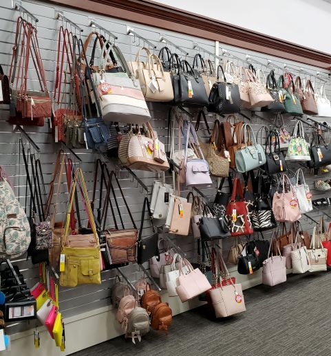 Handbag Sale from Shoe Dept.
