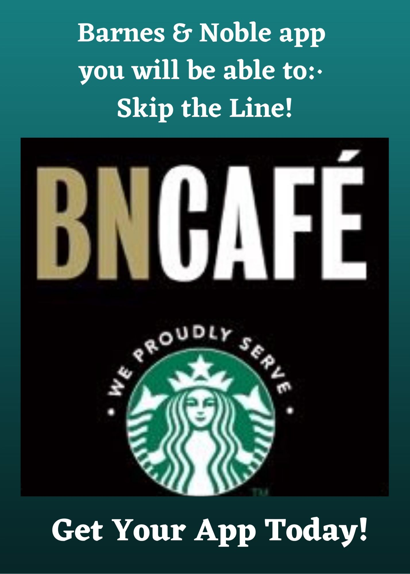 Barnes and Noble New Cafe App! from Barnes & Noble Booksellers