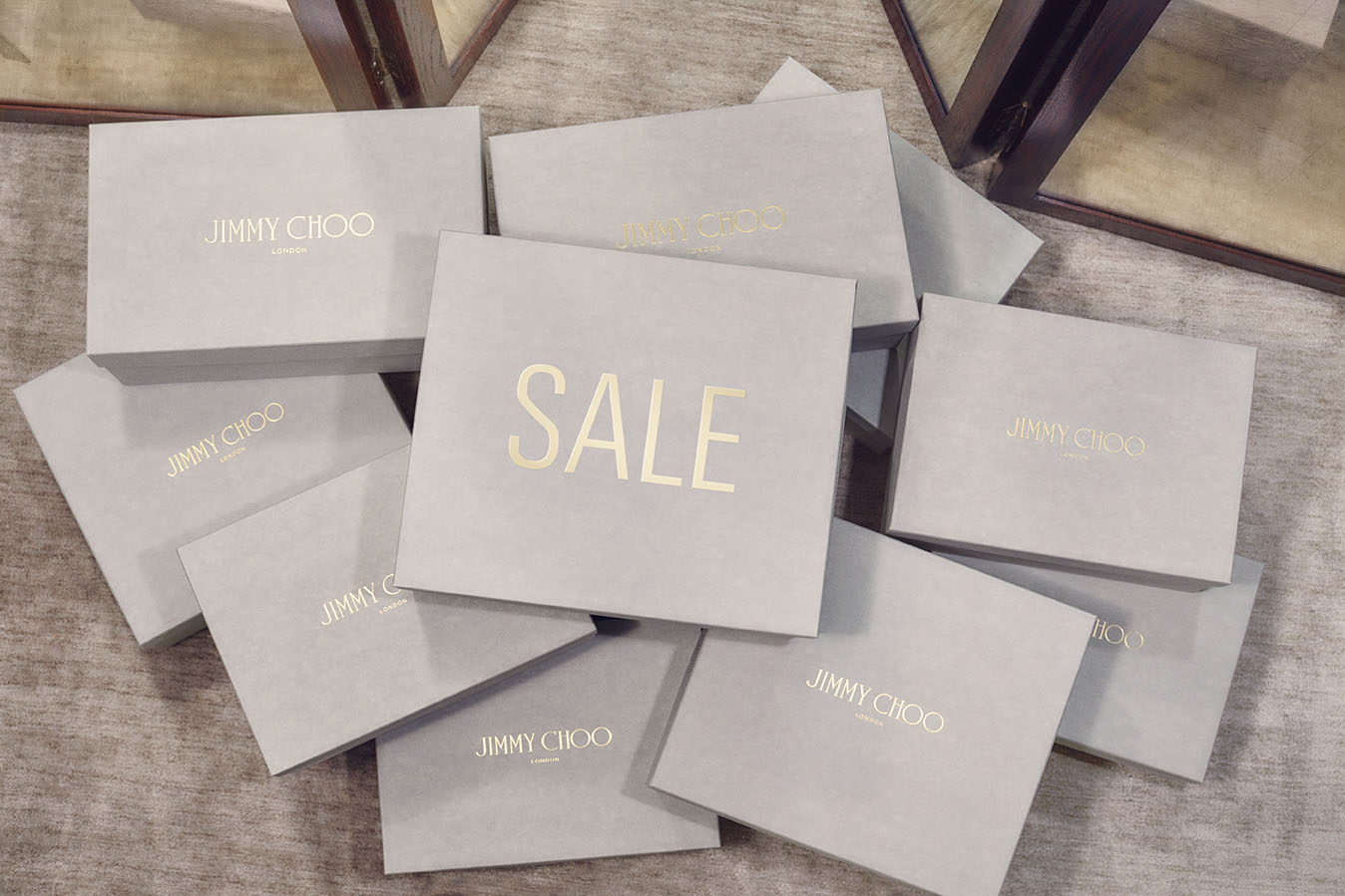 Enjoy 40% off select styles from Jimmy Choo