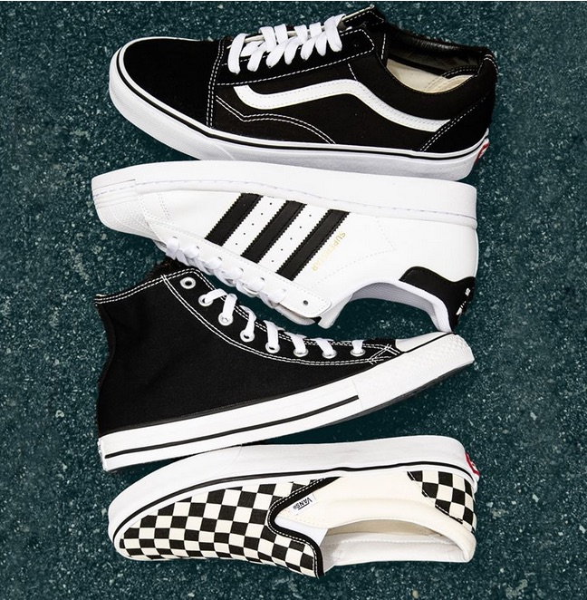 Vans. Adidas. Converse. from Journeys