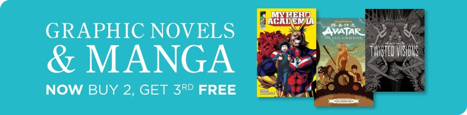 Manga & Graphic Novels - Buy 2 get the 3rd Free!* from Books-A-Million