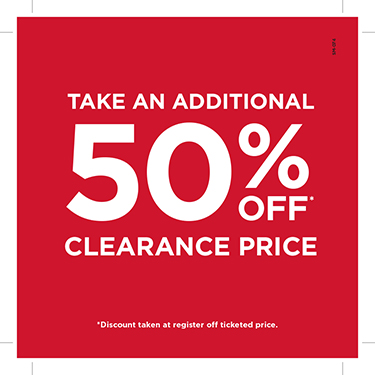 Take an additional 50% off already mark downed clearance items from Books-A-Million