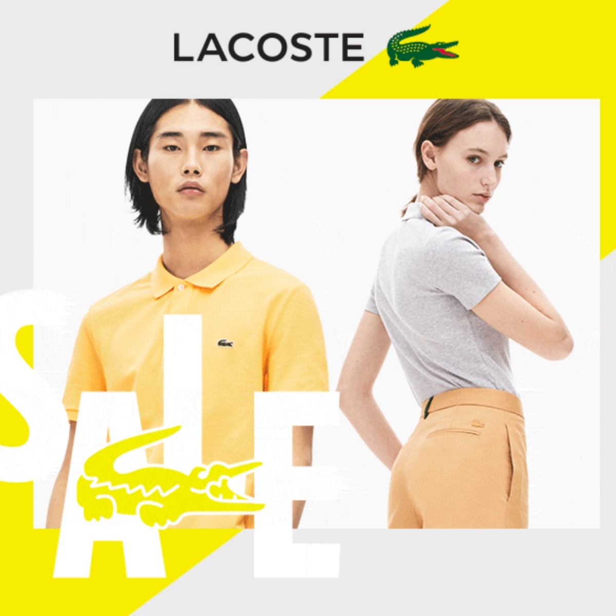 Summer Sale from Lacoste