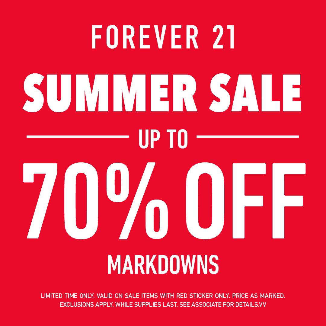 Summer Sale from Forever 21