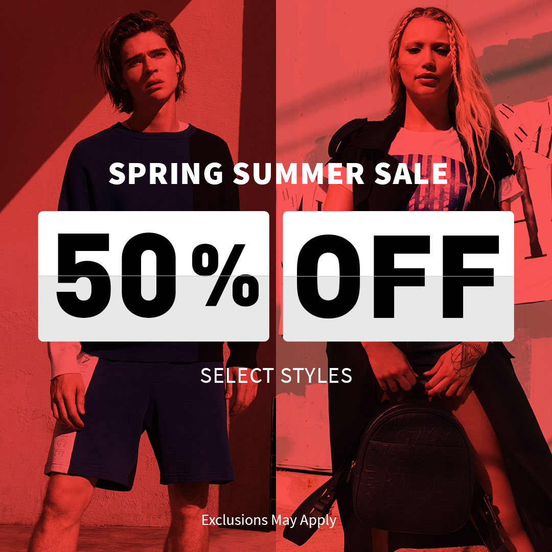 Spring Summer Sale Armani Exchange from A|X Armani Exchange