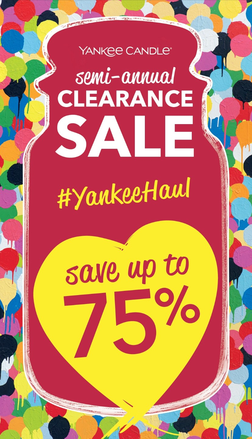 Semi-Annual Clearance Sale!